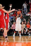 2009 University of Miami Women's Basketball vs North Carolina State