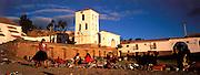 PERU, HIGHLANDS, MARKETS Chincheros, village near Cuzco