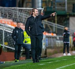 Dundee United's manager Robbie Neilson. Dundee United 2 v 1 Alloa Athletic, Scottish Championship game played 7/12/2019 at Dundee United's stadium Tannadice Park.