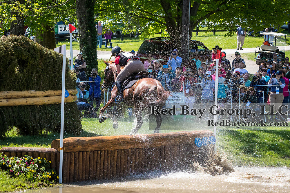 Hazel Shannon (AUS) and Willingapark Clifford during the cross-country at the 2019 Land Rover Kentucky Three-Day Event presented by MARS EQUESTRIAN in Lexington, Kentucky