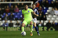 Brighton striker, Tomer Hemed (10) during the Sky Bet Championship match between Birmingham City and Brighton and Hove Albion at St Andrews, Birmingham, England on 5 April 2016.
