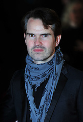 © Licensed to London News Pictures. 24/01/2012. London, England. Jimmy Carr attends the world premiere of The Woman in Black , Hammer Films new horror movie at The Royal Festival hall  London  Photo credit : ALAN ROXBOROUGH/LNP