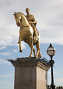 King William III known as King Billy statue, Hull, Yorkshire, England