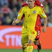 Romania's Alexandru Bourceanu during their FIFA World Cup 2014 qualifying soccer match Turkey betwen Romania at Sukru Saracoglu stadium in Istanbul october 12, 2012. Photo by TURKPIX
