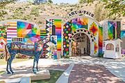 Iconic Summer Art Festival in Laguna Beach  Art A Fair Ticket Booth