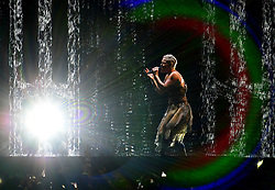 Pinl performs on stage at the Brit Awards 2019 at the O2 Arena, London. PRESS ASSOCIATION PHOTO. Picture date: Wednesday February 20, 2019. See PA story SHOWBIZ Brits. Photo credit should read: Victoria Jones/PA Wire. EDITORIAL USE ONLY.