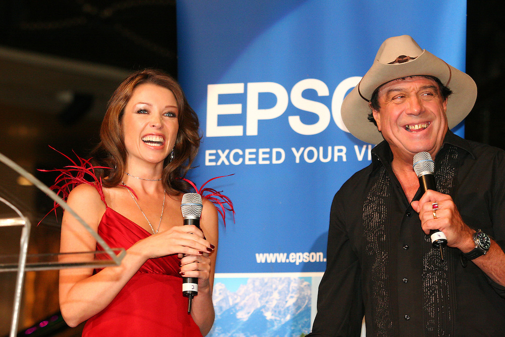 Dannii Minogue and Molly Meldrum open photographer, Robin Selleck's exhibition