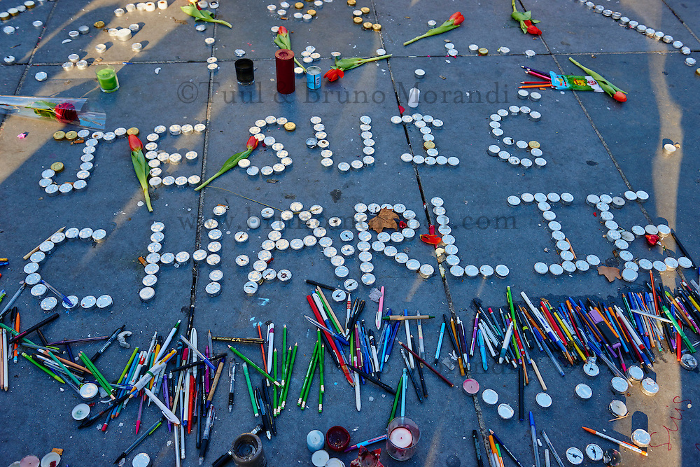 France, Paris, 11 january 2015 March for Charlie Hebdo