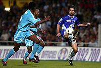 Fotball<br /> Frankrike 2003/04<br /> Toulouse v Olympique Marseille<br /> 15. mai 2004<br /> Foto: Digitalsport<br /> NORWAY ONLY<br /> <br /> FERNANDAO (TOU) / PHILIPPE CHRISTANVAL / DAVID SOMMEIL (OM)
