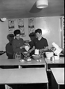 Scolarship Girls at the Irish Countrywomen's Association College, TermRanks, Wholemeal, Four, Bread, Baking,onfeckin, County Louth..02.03.1967 Ranks, Wholemeal, Four, Bread, Baking,