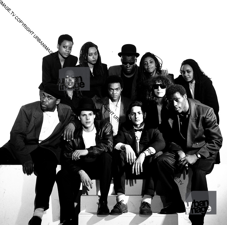 Reggae Philhamonic Ochestra photosession1988