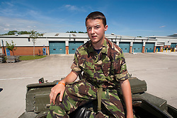 Ryan Young..Exercise Guards Warrior with the Scots Guards at their Catterick base..Pic ©2010 Michael Schofield. All Rights Reserved.