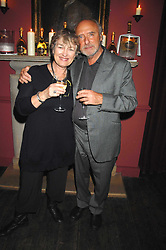 PETER & MAGGIE LAW parents of artist Natasha Law and actor Jude Law at a dinner hosted by Ruinart in honour of artist Natasha Law held at Soho House, 21 Old Compton Street, London on 16th January 2008.<br /> <br />  (EMBARGOED FOR PUBLICATION IN UK MAGAZINES UNTIL 1 MONTH AFTER CREATE DATE AND TIME) www.donfeatures.com  +44 (0) 7092 235465