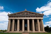 A replica Parthenon in Nashville Tennessee.