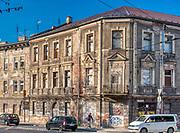 Ulica Limanowskiego na Podgórzu w Krakowie