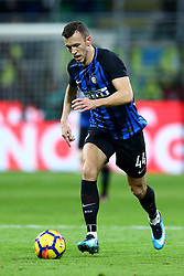 January 21, 2018 - Milan, Italy - Ivan Perisic of Internazionale  during the Serie A match between FC Internazionale and AS Roma at Stadio Giuseppe Meazza on January 21, 2018 in Milan, Italy. (Credit Image: © Matteo Ciambelli/NurPhoto via ZUMA Press)