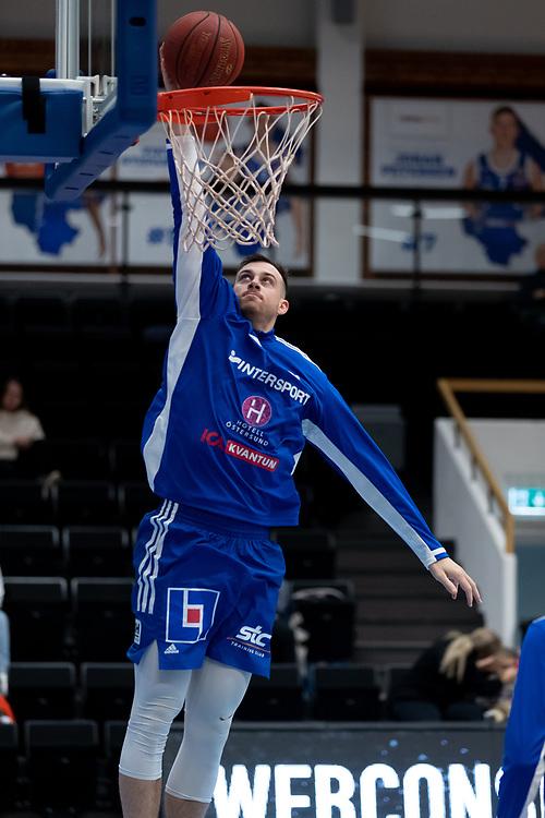 ÖSTERSUND 20210924<br /> Jämtlands Steve Harris under fredagens match i Basketligan mellan Jämtland Basket och Nässjö Basket i Östersunds Sporthall<br /> <br /> Foto: Per Danielsson/Projekt.P