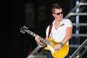 Chase Bryant performs at Gexa Energy Pavilion in Dallas, Texas on June 6, 2015.