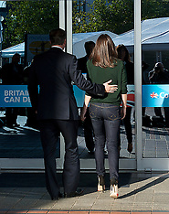 Oct 07 2012 The Prime Minister Arriving At Conference