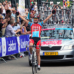 Sportfoto archief 2006-2010<br /> 2009<br /> Marianne Vos prolongeerde op indrukwekkende manier haar nationale titel op de weg bij de vrouwen.<br /> Marianne Vos was the strongest on the Dutch Nationals