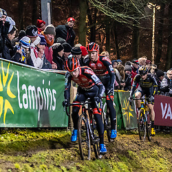 2019-12-29: Cycling: Superprestige: Diegem: The offcamber section is allways spectacular