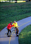 Bicycling, Pennsylvania, Outdoor recreation, Biking in PA Young Adult Couple Biking, Valley Forge National Historical Park