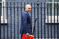 © Licensed to London News Pictures. 15/11/2016. London, UK. Communities and Local Government Secretary SAJID JAVID attends a cabinet meeting in Downing Street on Tuesday, 15 November 2016. Photo credit: Tolga Akmen/LNP