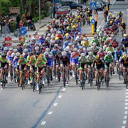 14-05-2016: Wielrennen: Ronde van Overijssel: Rijssen    <br />RIJSSEN (NED) wielrennen<br />Met 64 edities is de ronde van Overijssel een van de oudste wielerkoersen in Nederland. Passage Dorp van de ronde
