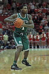 20 November 2013:  CJ Jones during an NCAA Non-Conference mens basketball game between theJaspers of Manhattan and the Illinois State Redbirds in Redbird Arena, Normal IL