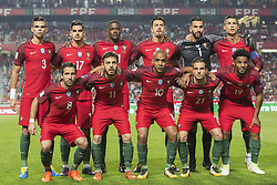 October 10, 2017 - Lisbon, Lisbon, Portugal - Portugal inicial team during the match between Portugal v Switzerland - FIFA 2018 World Cup Qualifier match at Luz Stadium on October 10, 2017 in Lisbon, Portugal. (Credit Image: © Dpi/NurPhoto via ZUMA Press)