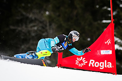 Anke Karstens (GER) competes during Qualification Run of Women's Parallel Giant Slalom at FIS Snowboard World Cup Rogla 2016, on January 23, 2016 in Course Jasa, Rogla, Slovenia. Photo by Ziga Zupan / Sportida