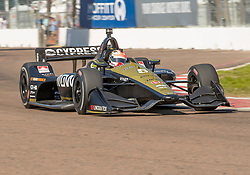 March 9, 2019 - St. Petersburg, FL, U.S. - ST. PETERSBURG, FL - MARCH 09: Schmidt Peterson Motorsports driver James Hinchcliffe (5) of Canada during the NTT IndyCar Series - Firestone Grand Prix Qualifying on March 9 in St. Petersburg, FL. (Photo by Andrew Bershaw/Icon Sportswire) (Credit Image: © Andrew Bershaw/Icon SMI via ZUMA Press)