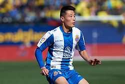 February 3, 2019 - Villarreal, Castellon, Spain - Wu Lei of RCD Espanyol during the La Liga match between Villarreal and Espanyol at Estadio de la Ceramica on February 3, 2019 in Vila-real, Spain. (Credit Image: © Maria Jose Segovia/NurPhoto via ZUMA Press)
