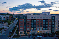Drone Aerial image of OMNIA King of Prussia Apartments in Pennsylvania by James Culcasi of CPI Productions