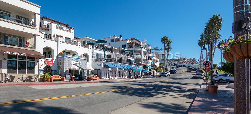 Downtown San Clemente at the Pier Bowl