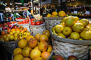 Organic Fruit at Farmers Market, Vancouver, Canada