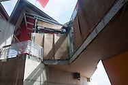 Registro avance de Obra del Biomuseo, diciembre 2012, Panamá City.©Victoria Murillo/Istmophoto.com