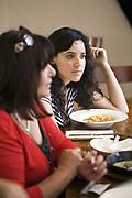 Diners at the Carmella Bistro, Tel Aviv, Israel