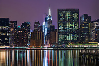 Chrysler Building & United Nations Headquarters on East River