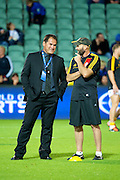 Dave Rennie talks tactics. Super Rugby, Western Force v Chiefs. Perth, Western Australia, nib Stadium. Friday 6th April 2012. Photo: Daniel Carson  Photosport.co.nz