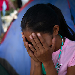 Migrants at the US/Mexico border