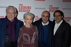 Donald Sutherland, Helen Mirren, Paolo Virzi and Michael Barker attending The Leisure Seeker screening at AMC Loews Lincoln Square on January 11, 2018 in New York City, NY, USA. Photo by Dennis Van Tine/ABACAPRESS.COM