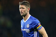 Gary Cahill of Chelsea wearing a rainbow coloured captains armband. Premier league match, Chelsea v Tottenham Hotspur at Stamford Bridge in London on Saturday 26th November 2016.<br /> pic by John Patrick Fletcher, Andrew Orchard sports photography.
