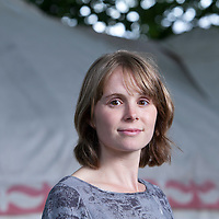 Lucy Wood, British short story writer, author, novelist, at the Edinburgh International Book Festival 2015.<br /> Edinburgh. 30th August 2015<br /> <br /> Photograph by Gary Doak/Writer Pictures<br /> <br /> WORLD RIGHTS