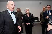 LORD YOUNG; LADY YOUNG; FLORENCE FINEGOLD; MARTIN FINEGOLD, Re-opening of the Jewish Museum. Campden. London. 16 March 2010.