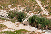 The Kidron Stream flows from Jerusalem to the Dead Sea. the flow in this stream consists mainly of sewerage and waste water from Jerusalem and neighbouring villages