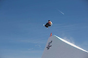 Mons Roisland, Norway, Snowboard Slopestyle Practice on the 7th February 2018 at Phoenix Snow Park for the Pyeongchang 2018 Winter Olympics in South Korea © Sam Mellish