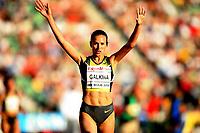 Friidrett , 6. juni 2008 , Golden League Bislett Games <br /> winner 3000 m Steeplechase , Gulnara Galkina , RUS