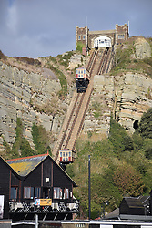 East Hill Cliff Railway, Hastings, East Sussex UK Oct 2016