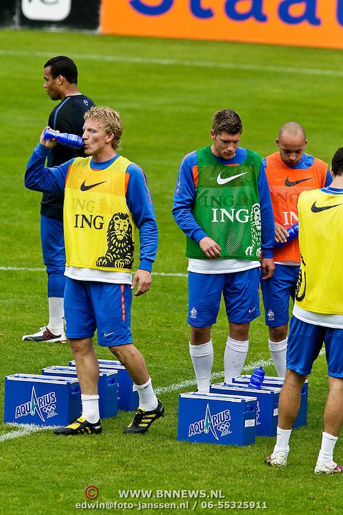 AUS/Seefeld/20100529 - Training NL Elftal WK 2010, Dirk Kuyt, Stijn Schaars